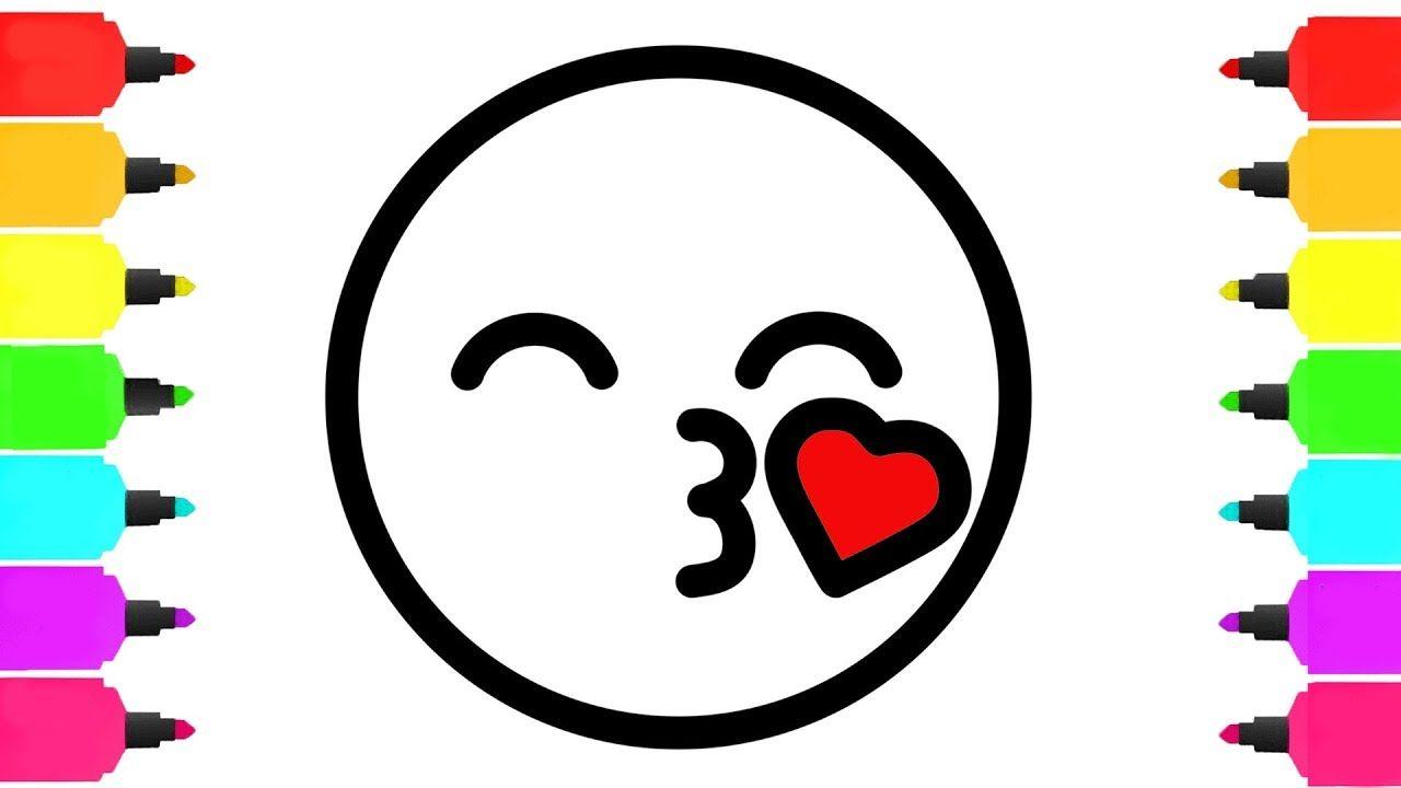 Emoji Coloring Pages