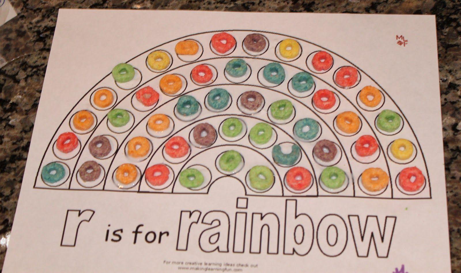 Rainbow Craft For Preschool