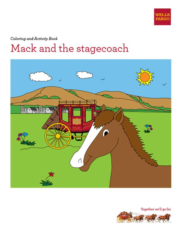 Download The Activity Book For Mack Who Helped Pull A Stagecoach From Placerville California To Carson City Nevada He And 6 Book Activities Pony Activities