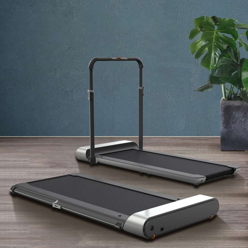Walkingpad R1 Treadmill 2 In 1 Smart Folding Walking And Running Machine For Outdoor And Indoor Fitness Exercise Silver In 2020 No Equipment Workout Treadmill Fitness Equipment Design