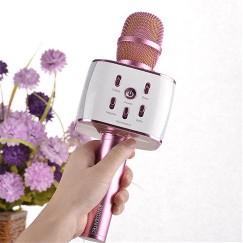 BINGSENTE K10 Wireless Karaoke Microphone Bluetooth