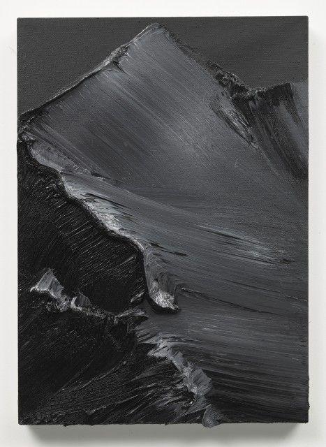 dunkel 6, 2010, 70x50 cm, oil on canvas