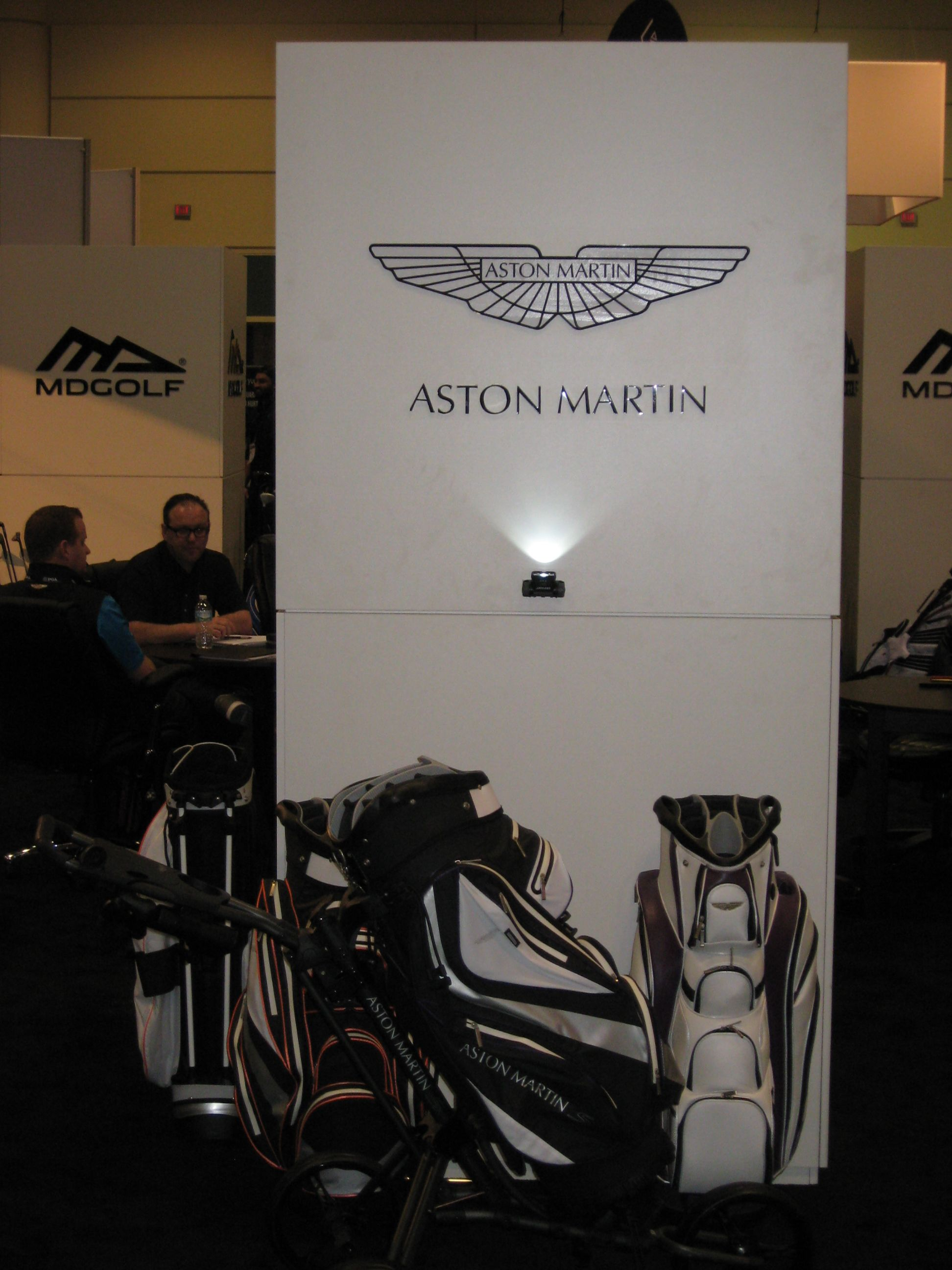 Aston Martin golf clubs...really??!!