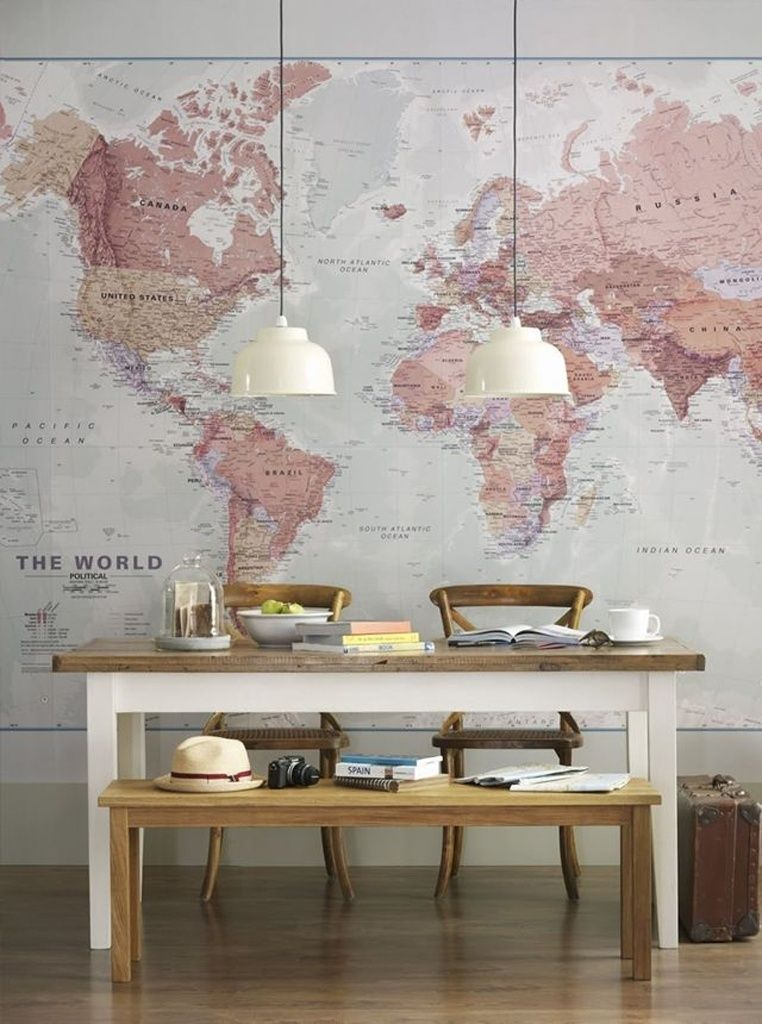 Parede bonita pode mudar completamente o clima da casa veja ideias every time i travel i buy a vintage map of that location someday i will have a map themed library with cool treasures i collect from around the world gumiabroncs Image collections