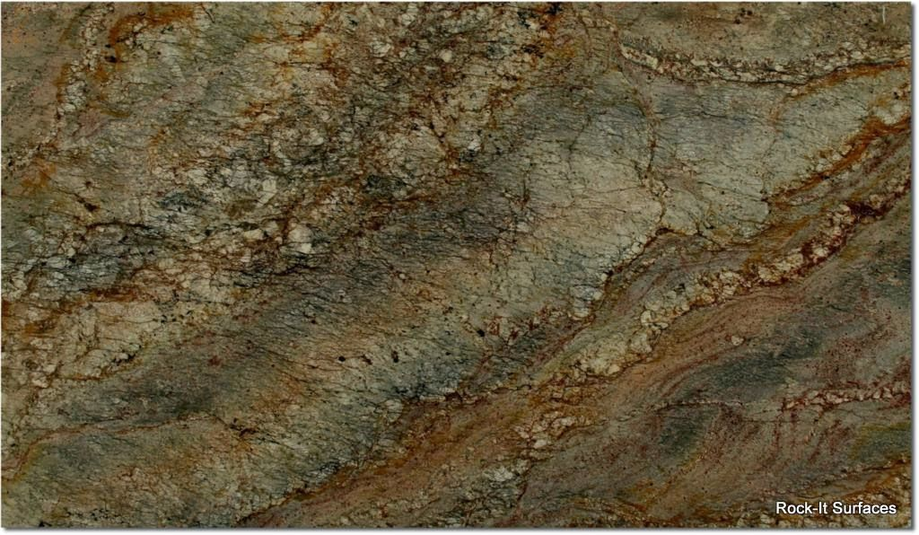 Hawaiian Bordeaux Granite Slab Inventory