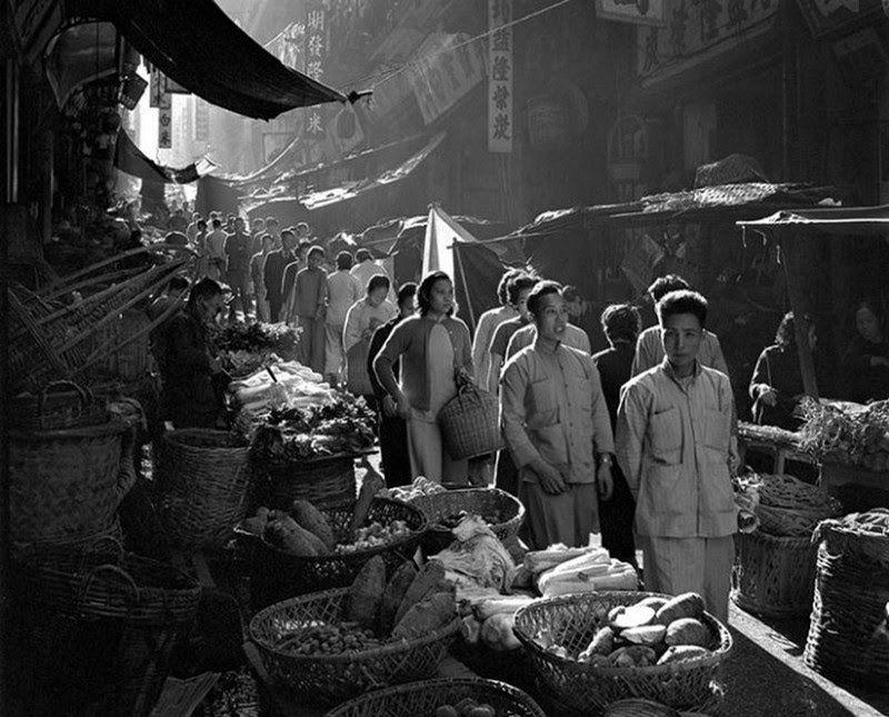 Fan Ho, de Shanghai. Hong Kong fotografiada en la década de los 1950.