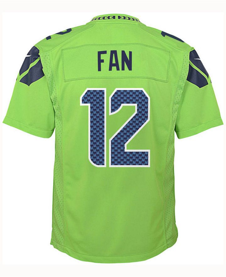 266e282c Nike Fan #12 Seattle Seahawks Color Rush Jersey, Big Boys (8-20 ...