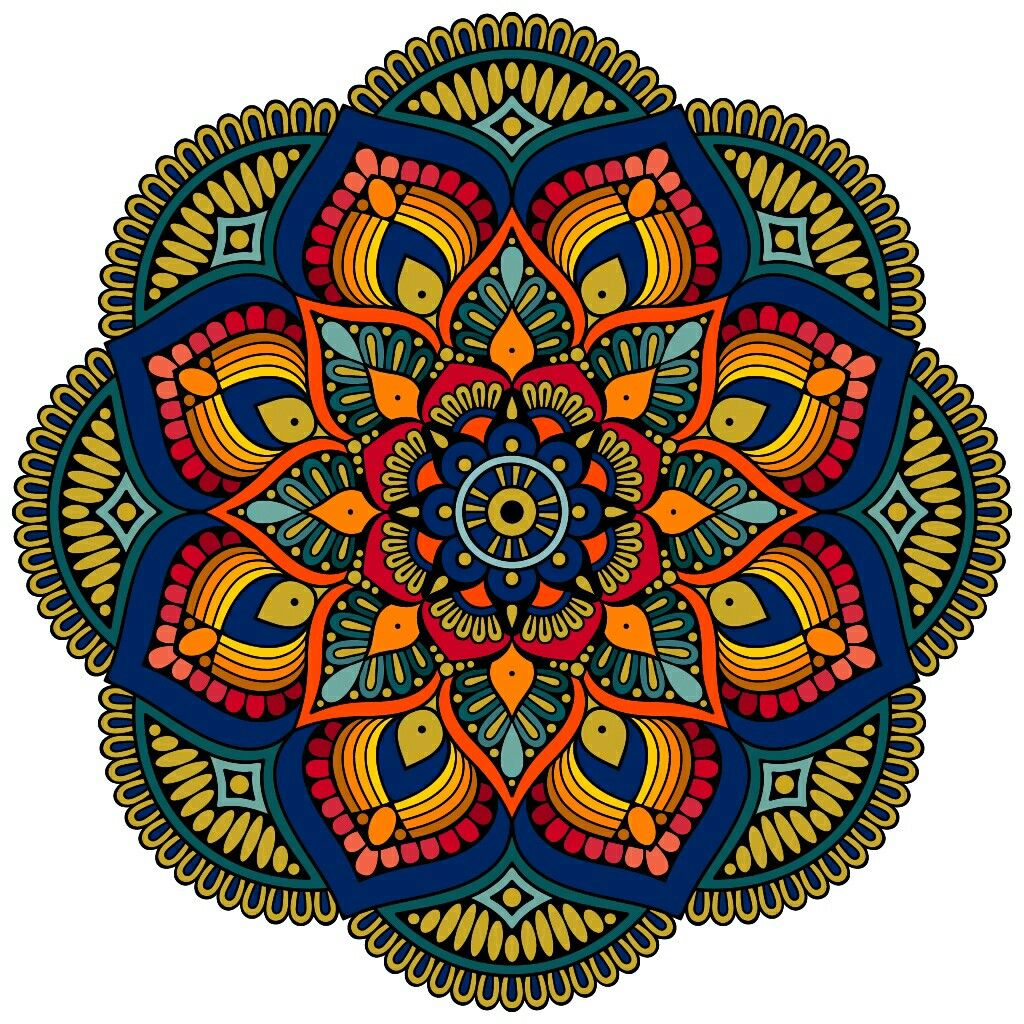 Pin by Елена on Colorindo | Mandala coloring, Mandala art ...