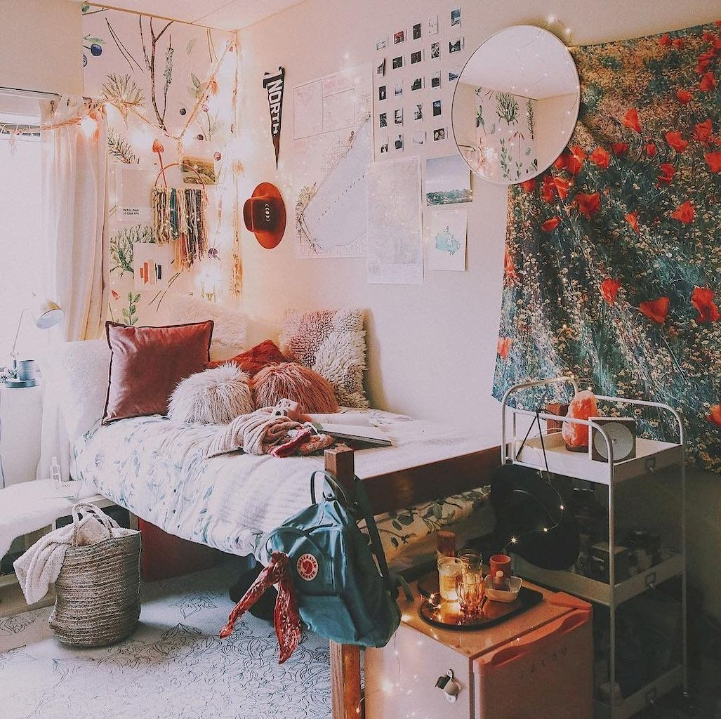 Cute Dorm Room Decorating Ideas On A Budget 59 Dorm Room Decor Dorm Room Inspiration Beautiful Dorm Room