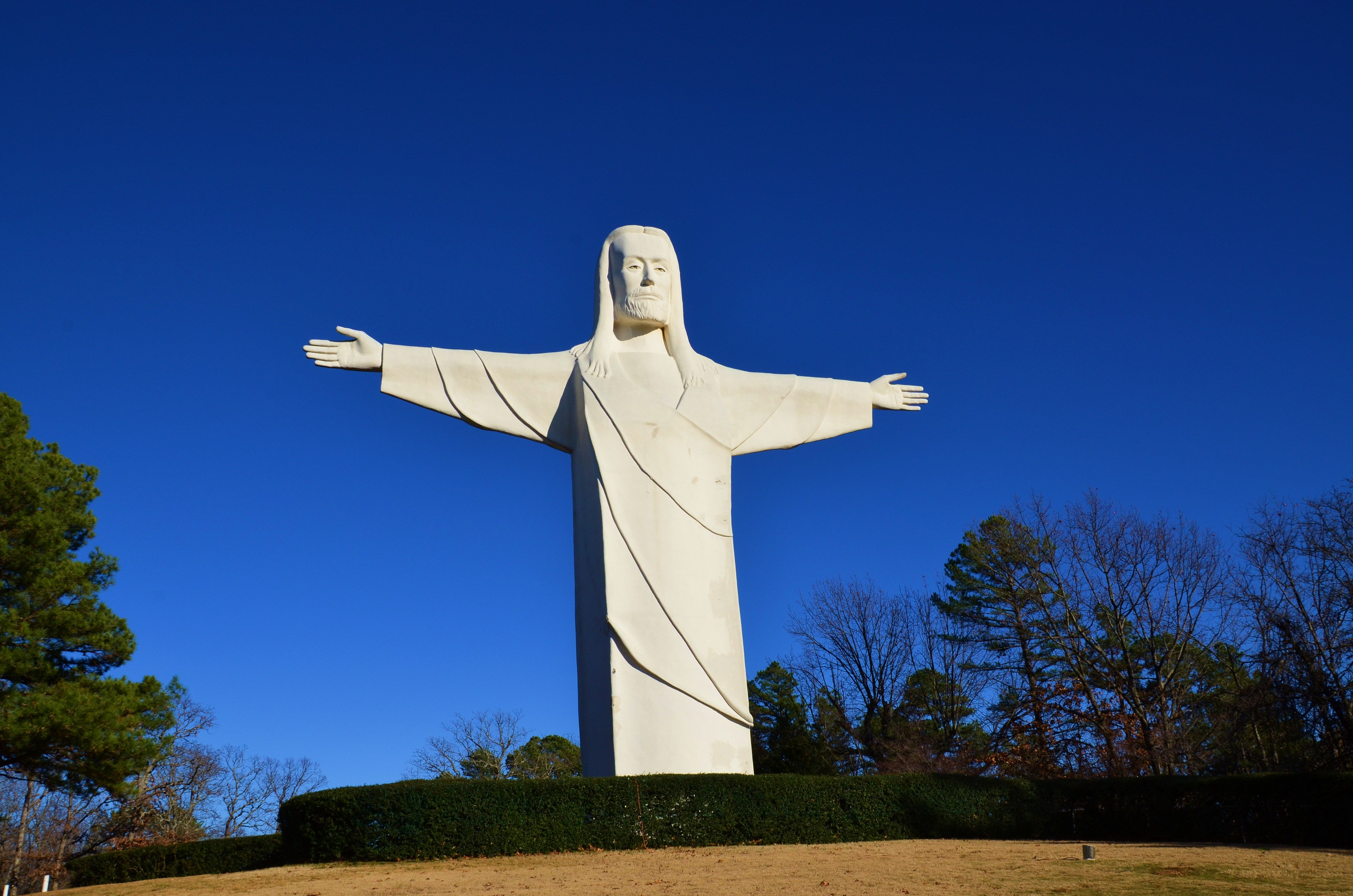 "Christ of the Ozarks aka, ""Big Jesus,"" Eureka Springs, AR"