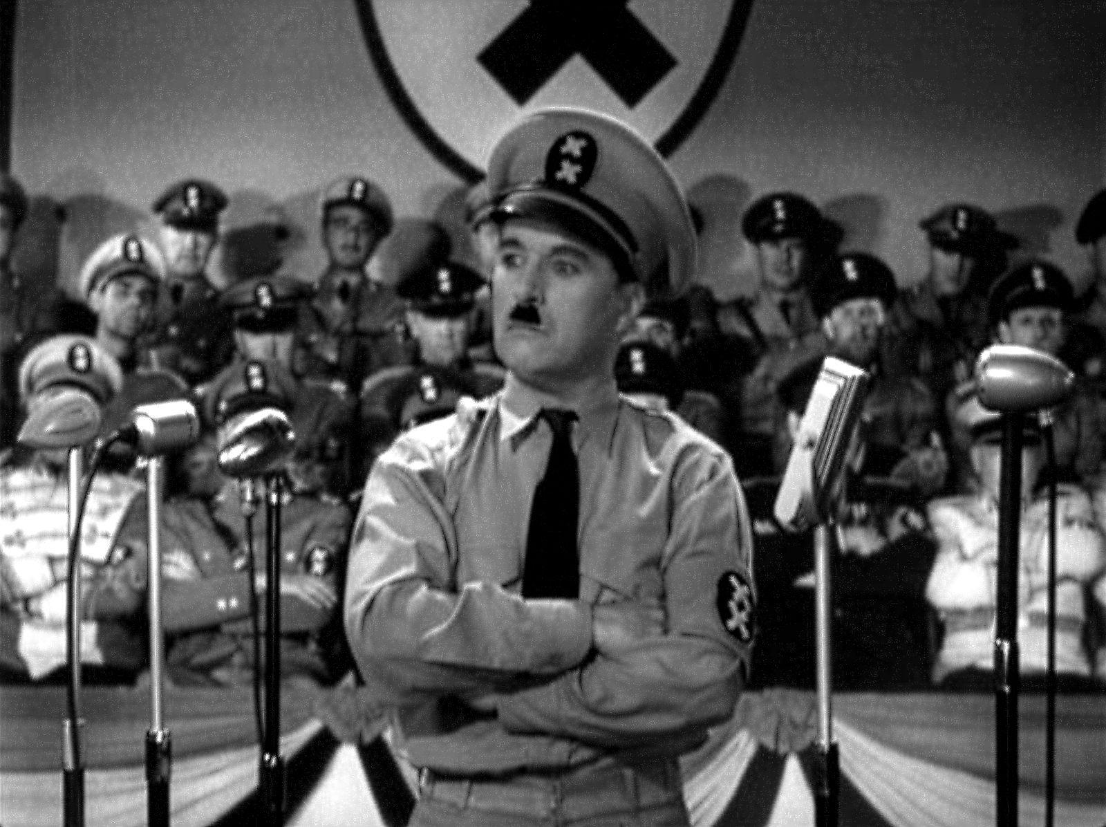Charlie Chaplin (The Great Dictator) Charlie chaplin