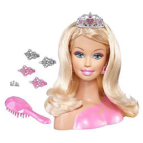 Barbie Doll Totally Hair Styling Head Barbie Styling Head Barbie Princess Barbie