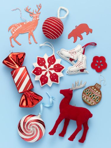 click through to see 9 affordable red ornaments that will put the merry in your trees christmas