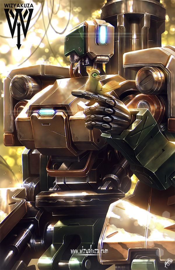 Bastion The Compassionate War Machine Lost In Time Just Trying To Get By In This New World Overwatch Bastion Overwatch Overwatch Wallpapers