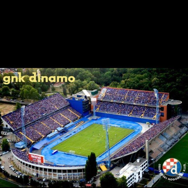 Maksimir Stadium Nk Dinamo Zagreb Football Stadiums Stadium Gnk Dinamo Zagreb