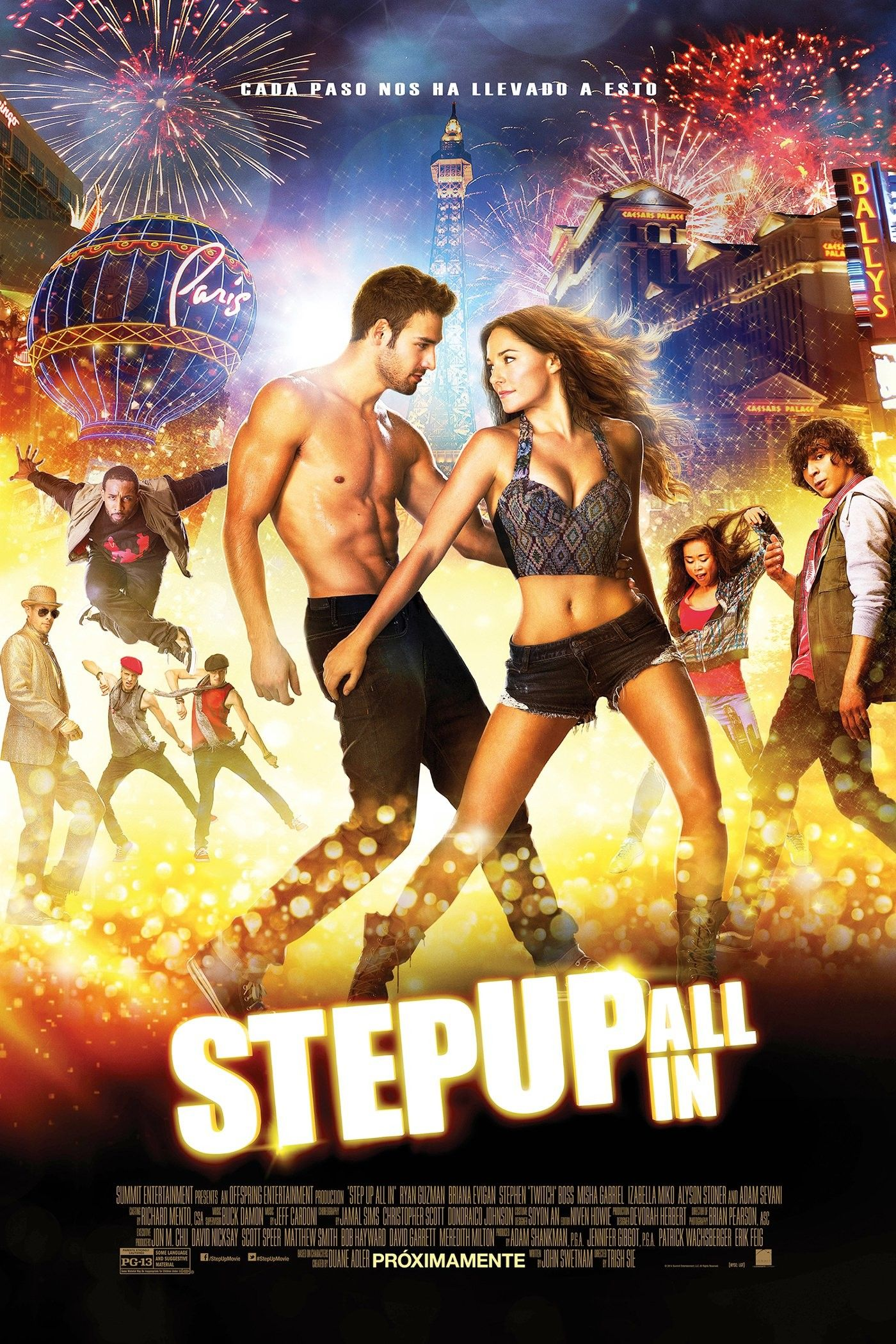Ver Step Up All In Online Gratis 2014 Hd Pelicula Completa Espanol Step Up Movies New Movie Posters Dance Movies
