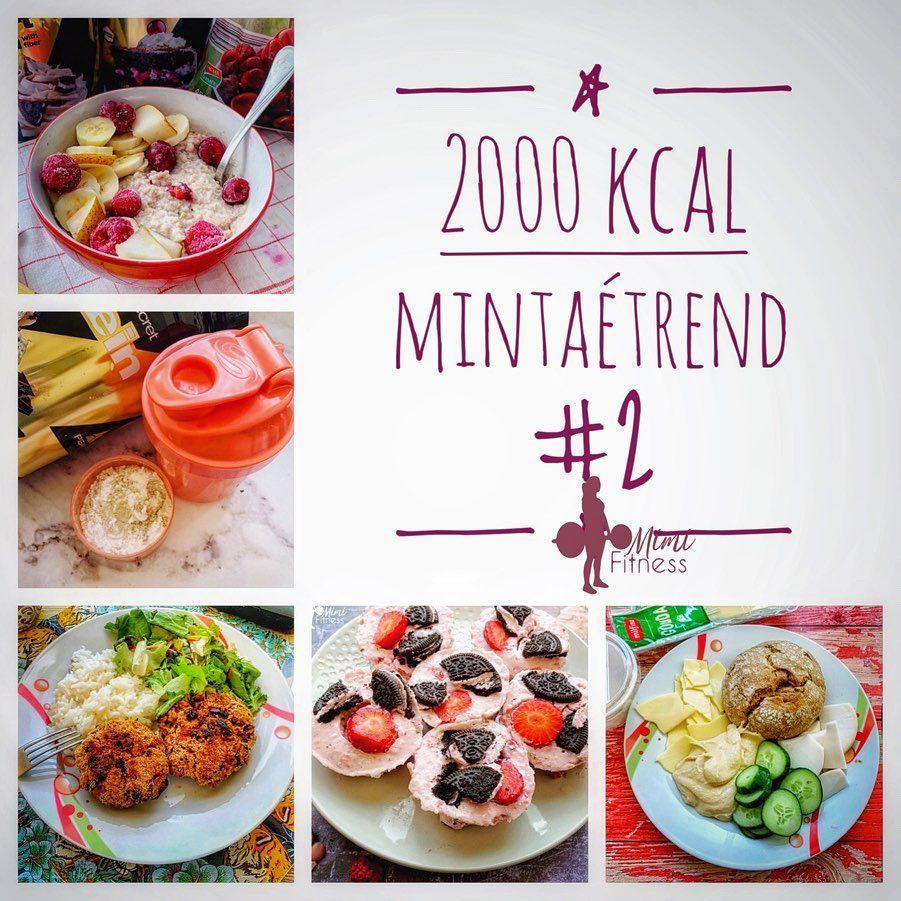 2000 kcal étrend minta)