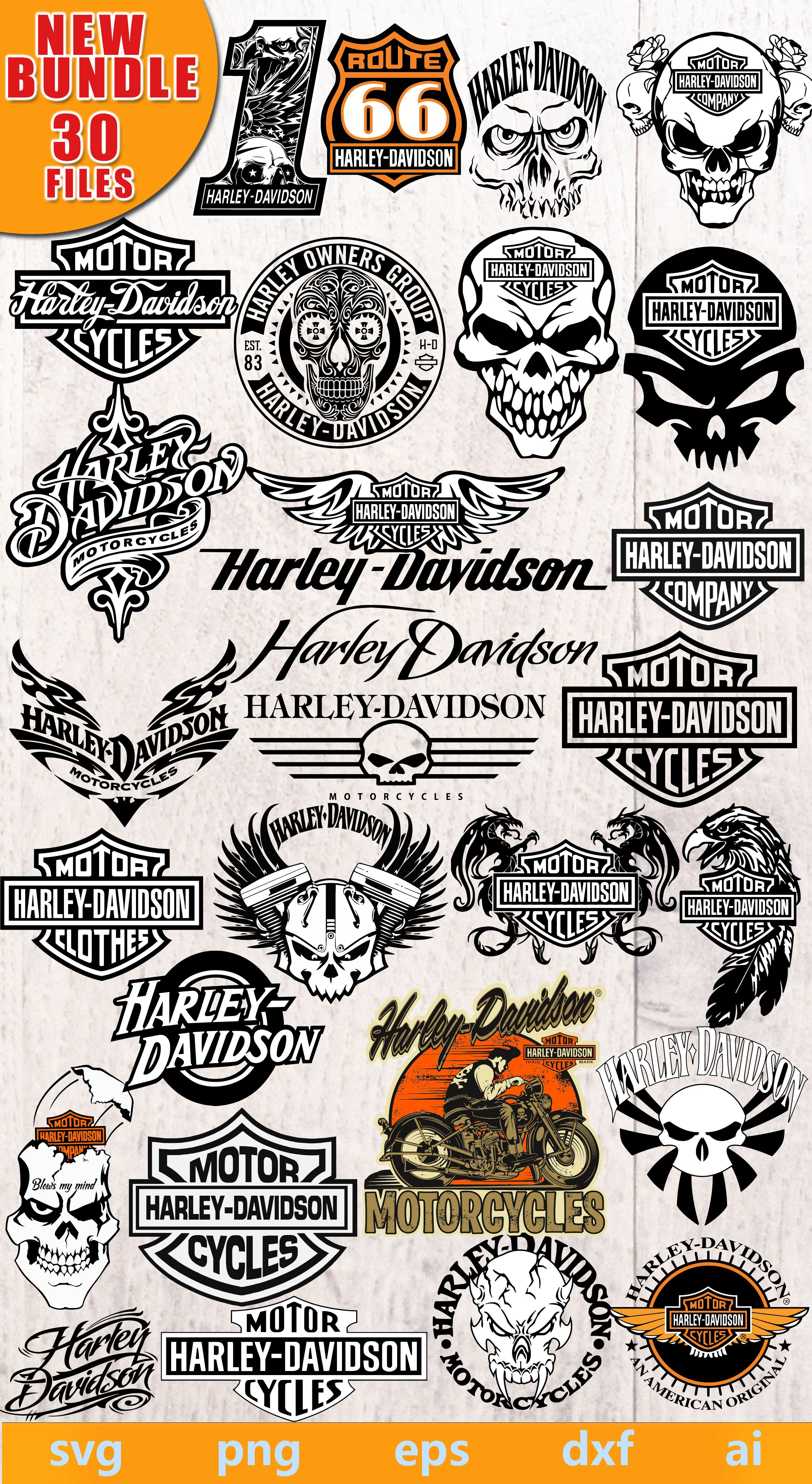 Harley Davidson Svg Harley Davidson Logo Harley Davidson Png Harley Davidson Eps Harley Davidson Dxf Harley Davidson Silhouette In 2020 Harley Davidson Signs Harley Davidson Logo Stencils Printables
