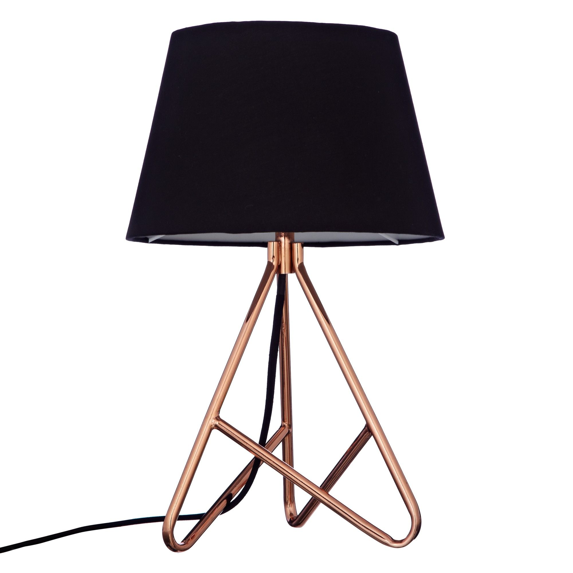 John lewis albus twisted table lamp black copper from john john lewis albus twisted table lamp black copper from john lewis 40 aloadofball Gallery