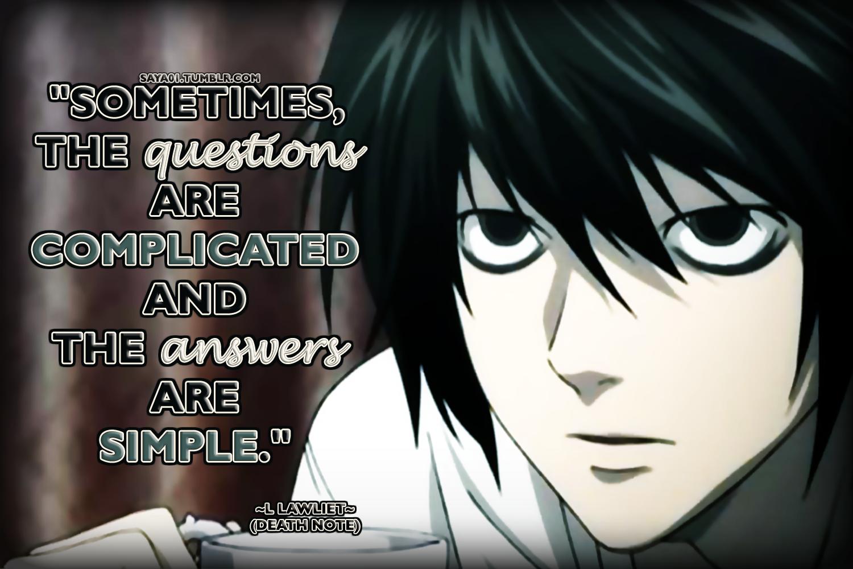 l lawliet quotes - Google Search   L   Pinterest   Manga ...