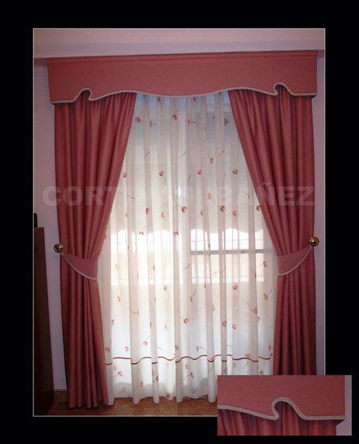 Foto cortinas clasicas cortinas triples visillos - Alzapanos para cortinas ...