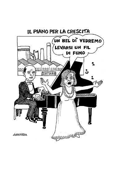 La vignetta di Giannelli - Corriere della Sera di sabato 16 giugno 2012