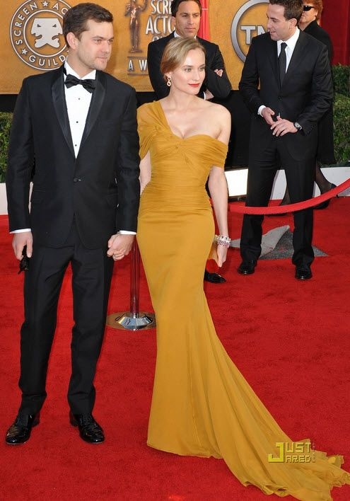 Diane Kruger Mustard Yellow Dress By Jason Wu Dresses Dresses