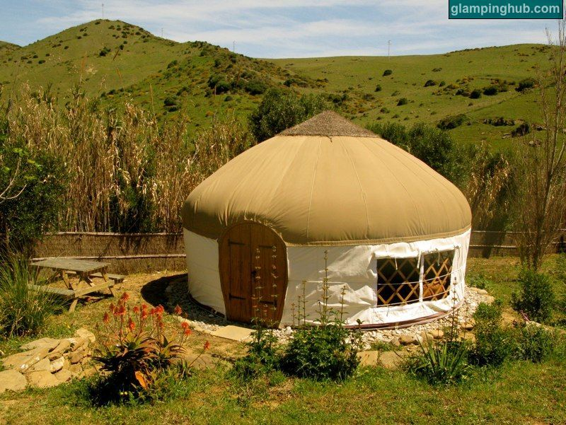Stylish And Eco Friendly Yurts For Glamping Near The Beaches Of Tarifa Spain Yurt Canopy And Stars Glamping