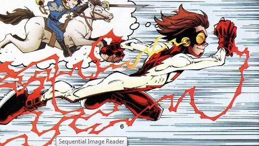 Impulse (Bart Allen) Impulse, the second Kid Flash, and the fourth hero known as The Flash. Originally born in the 30th Century as a descendant of the Allen Family, he traveled back to our time and became a member of the Flash Family.
