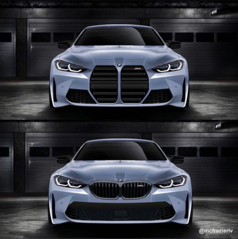 Ever Wondered How Bmws Would Look Like Without The Kidney Grille