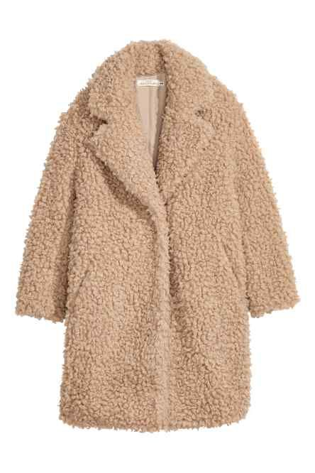 lange teddy jas in 2019 | outfits | fur coat outfit, faux fur jacket
