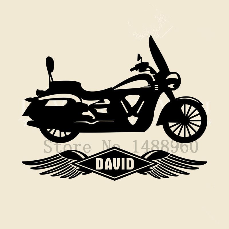 E Wall Stickers Home Decor DIY Poster Decal Mural Vinyl - Custom vinyl decals for bikes