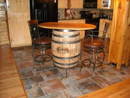 Delightful Table Top For Jack Daniels Barrel By The Rusted Nail. Would Be Cool To Maybe
