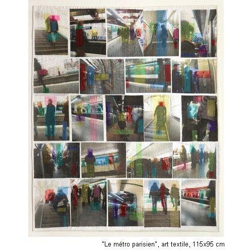 Cosabeth Parriaud Exposition Art Textile Patchwork Galerie D