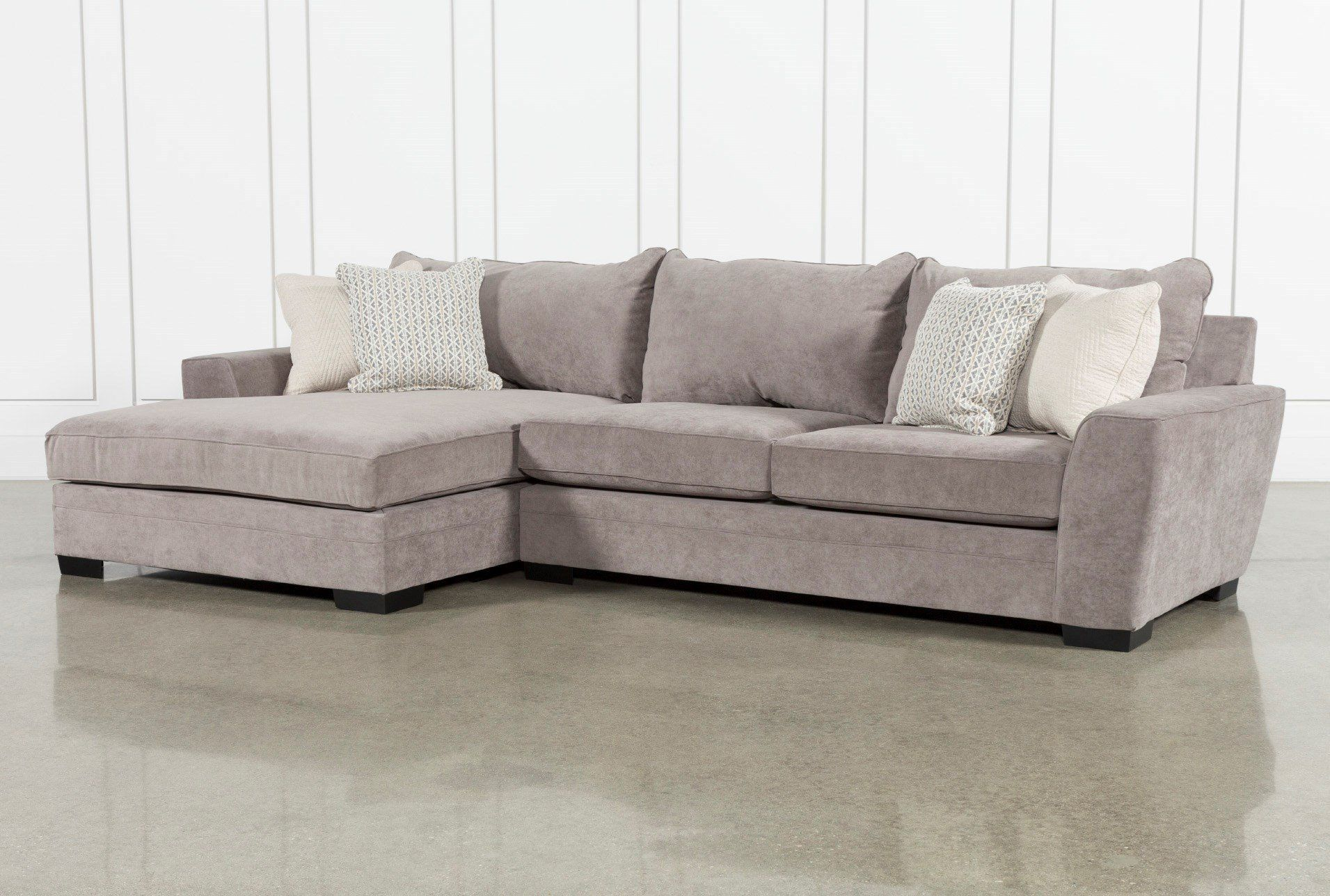 Delano Charcoal 2 Piece Sectional With Left Arm Facing Chaise Sectional Sofa Cool Couches Furniture