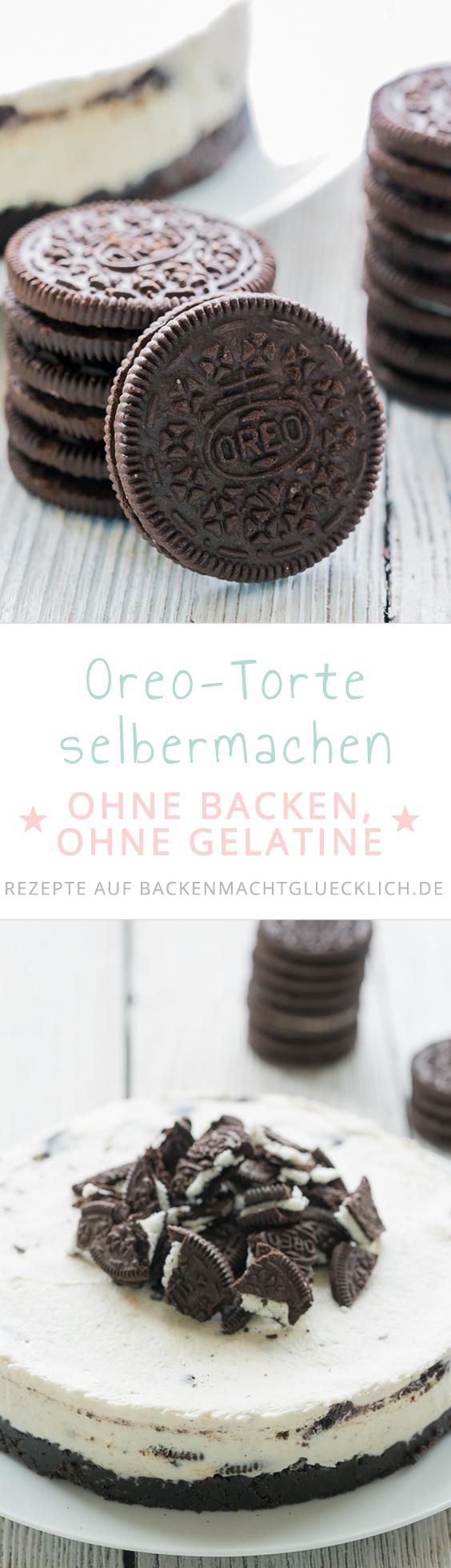 Oreo Torte Ohne Backen Rezept Backenmachtglucklich Rezepte