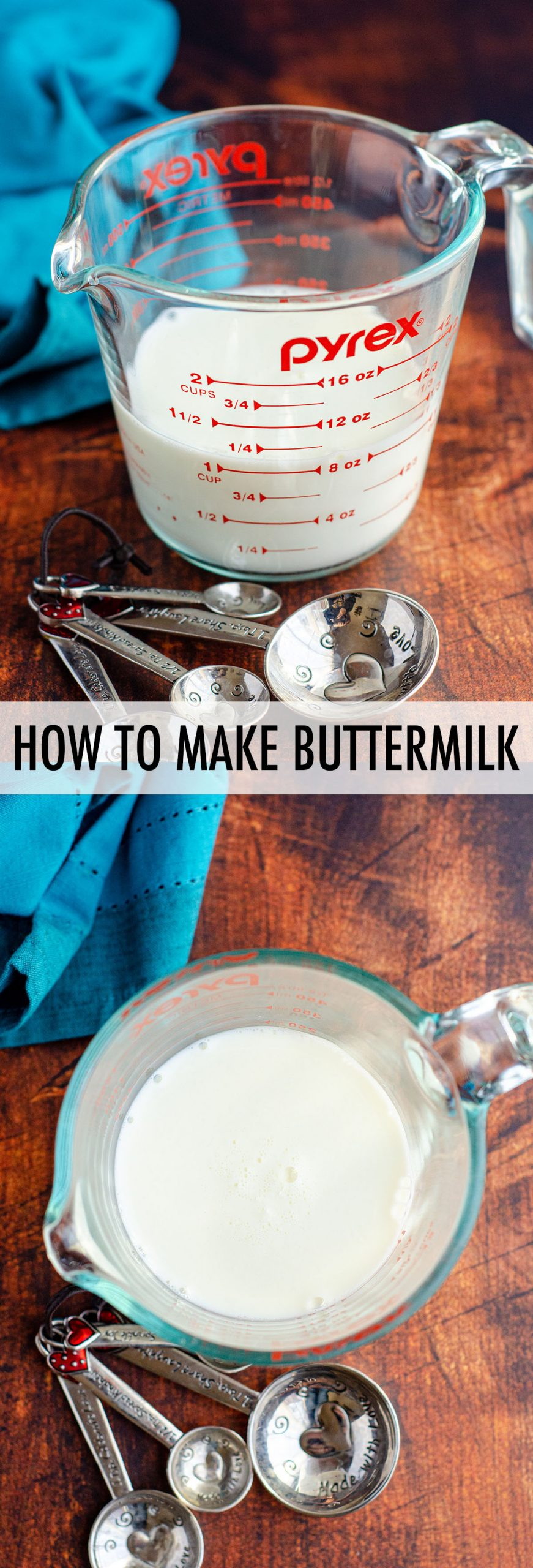 Homemade Buttermilk In 2020 Homemade Buttermilk How To Make Buttermilk Milk Recipes