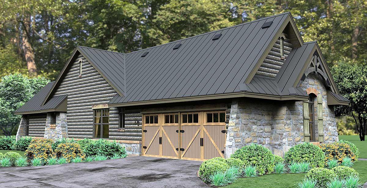 Plan 16863WG Rugged Rustic 3 Bedroom Home Plan House