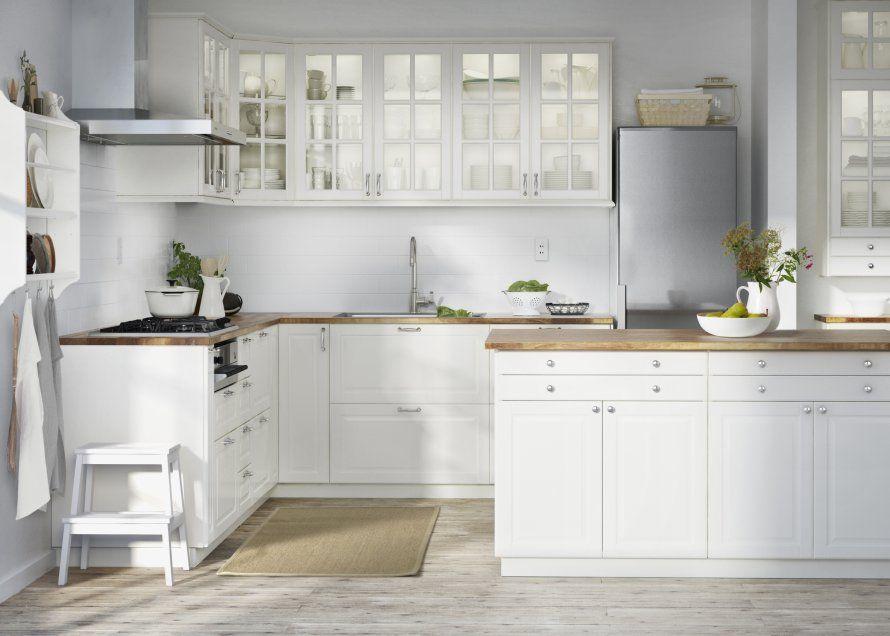 Cuisine Metod Bodbyn Ikea Cucina Bianca Arredamento Ikea