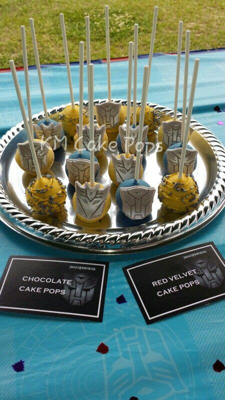 Transformers Cake Pops Km Cake Pops In 2019