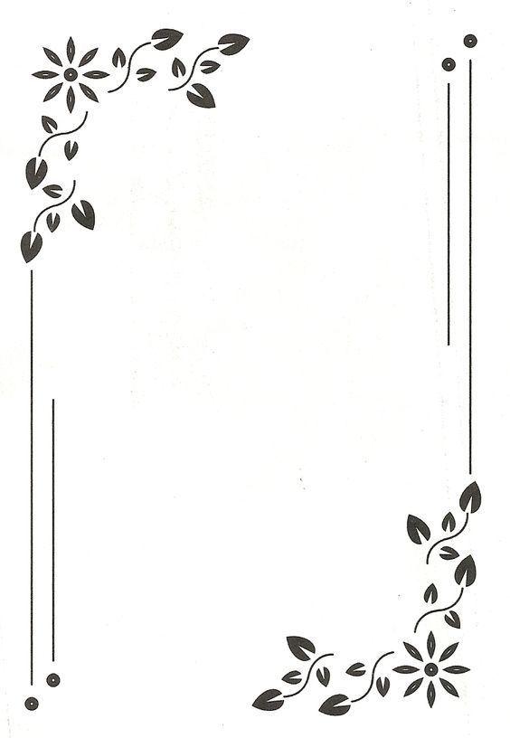 Page Borders Design High Border Design For Invitation Card And