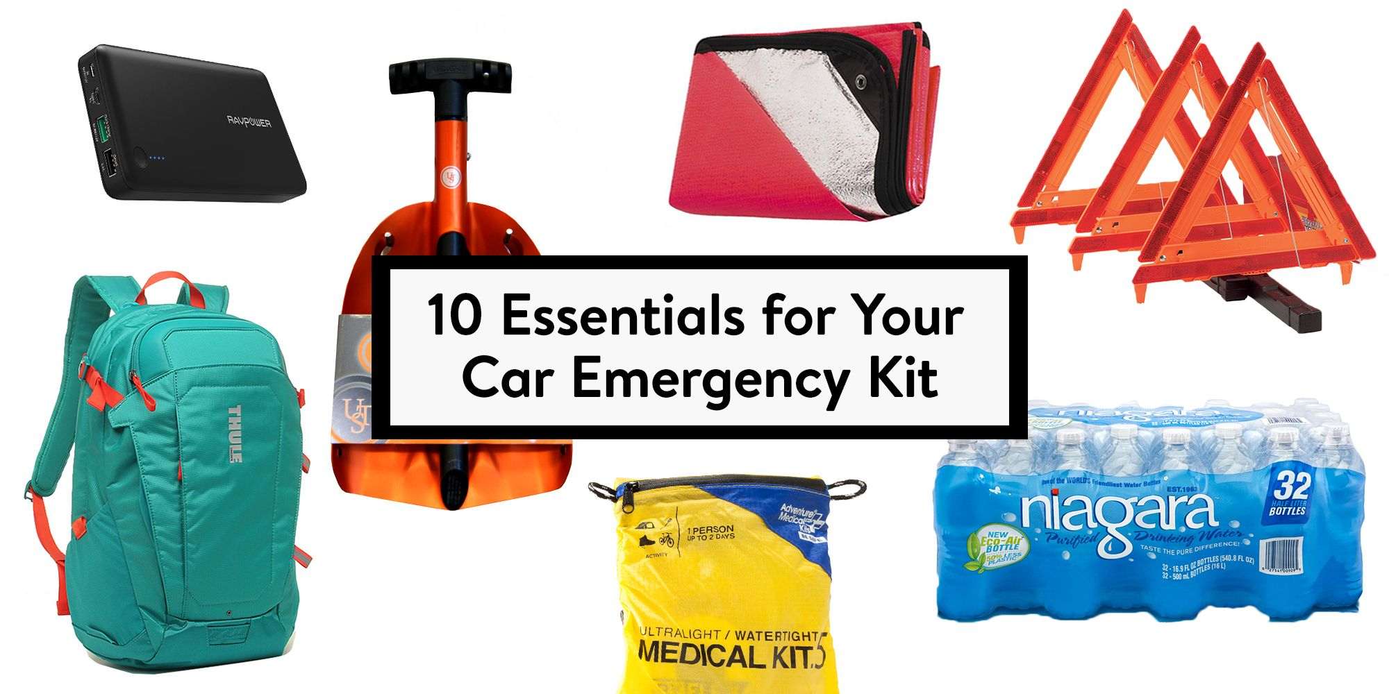 Safety First 10 Essentials for Your Car Emergency Kit