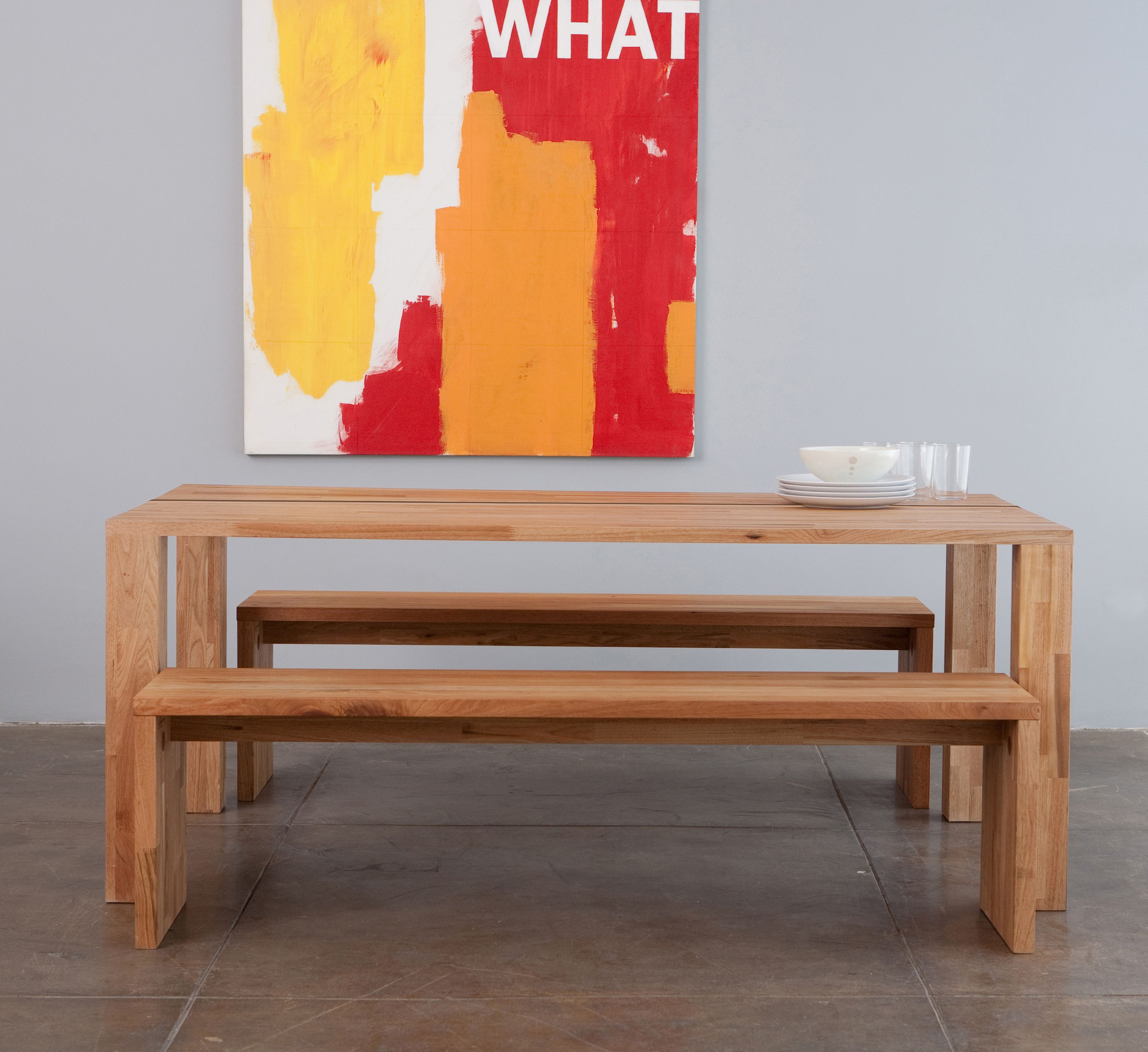 Ive always loved this table the mash studios lax edge dining table click through for others
