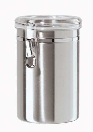 Oggi 5306 Stainless Steel Air Canister 60 Oz By 24 88 Acrylic Clamp