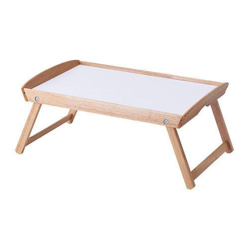 Breakfast Bed Tray Table Folding Legs Foldable Serving Serve Tea