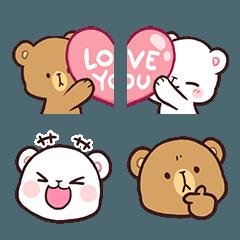 Pin By Lorena Novoa On Milk Mocha Bear Cute Bear Drawings Cute Love Gif Bear Wallpaper