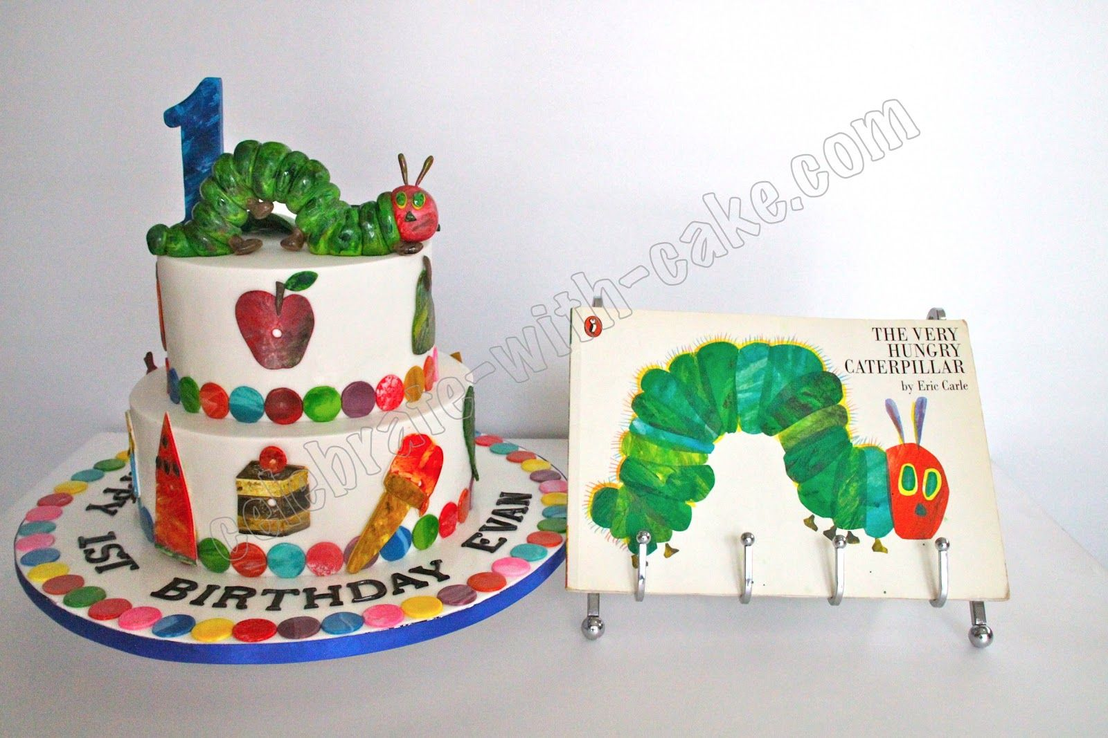 Celebrate With Cake The Very Hungry Caterpillar