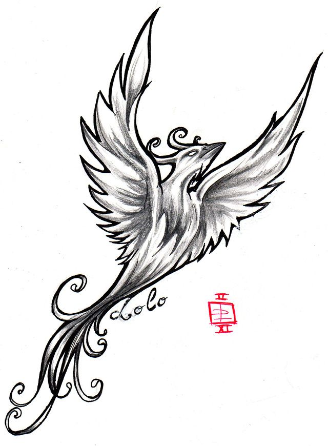 In Greek Mythology A Phoenix Is A Bird That Lives Forever When It