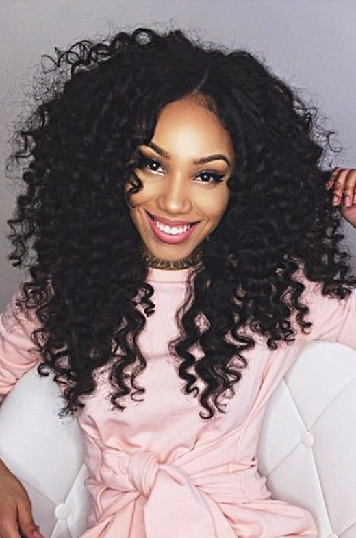 Brazilian Virgin Hair Alyssa Inspired Curls Glueless Lace Wigs[GFL24 ...