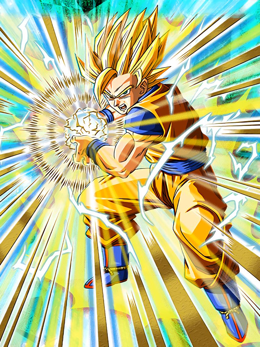 Unlimited Power Super Saiyan 2 Goku This Is The Level Beyond Dragon Ball